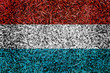 luxembourg Flag color grass texture background