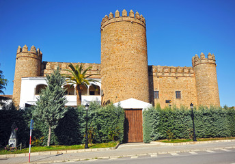 Castle, Palace Dukes of Feria, Zafra, Badajoz, Spain