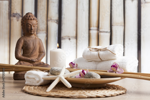 spa and meditation background - 67010903