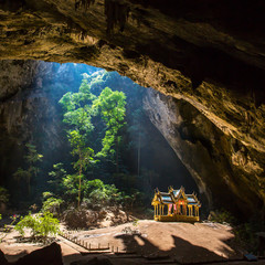 Royal pavilion in the Phraya Nakhon Cave, Prachuap Khiri Khan, T