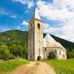 Church in Srednja vas near Semic, Slovenia.