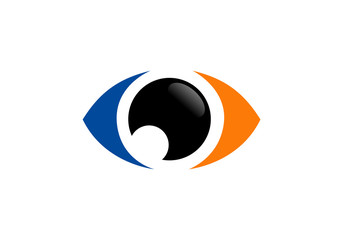 eyes optical vector logo
