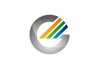 G letter symbol logo