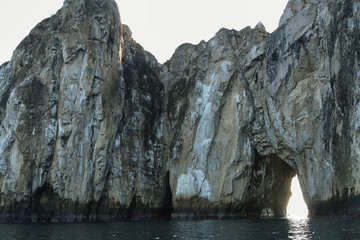 Rock formations of Witch Hill in San Cristobal island