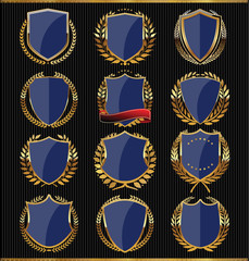 Golden shields collection