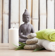 ayurveda symbols for relaxation and inner beauty