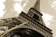 Leinwanddruck Bild - Tour Eiffel, Paris