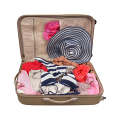 Suitcase vacation