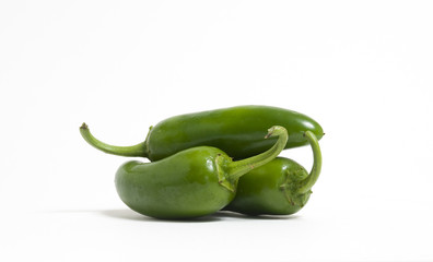 Three Jalapeno Peppers