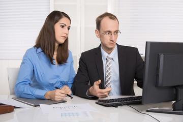 Zusammenarbeit im Team: Männer und Frauen Probleme