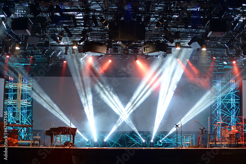 Concert Stage Lights - 67017346