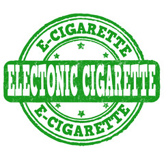 Electronic cigarette stamp