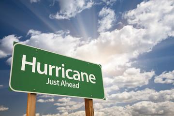 Hurricane Green Road Sign