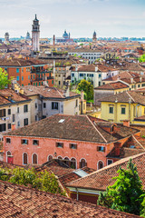 view of Venice rooftops from above