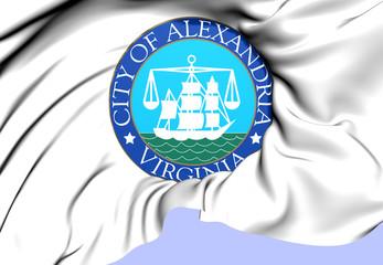 Flag of Alexandria, USA.
