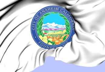 Anaheim Coat of Arms, USA.