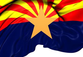 Flag of Arizona, USA.
