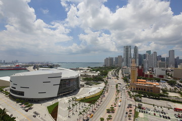Aerial image Downtown Miami