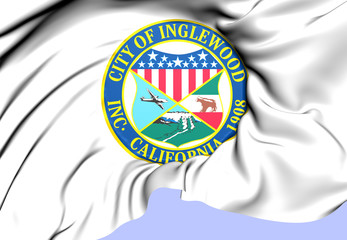 Inglewood Coat of Arms, USA.