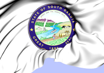 State Seal of South Dakota, USA.