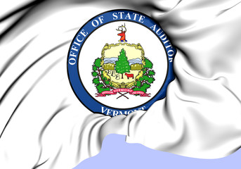 State Auditor of Vermont Seal, USA.