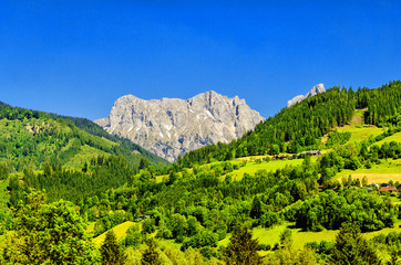 Dachstein Region of Alps