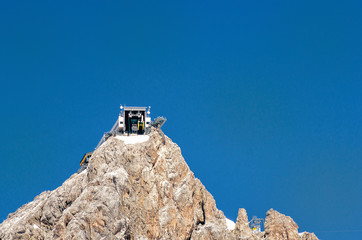 Cable car Station on Dachstein Mountain