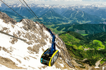 Cable Car in Dachstein, Austria
