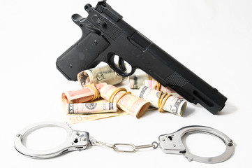 Financial Crime Concept