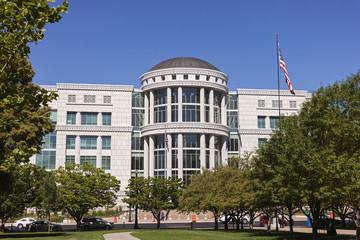 Scott M. Matheson Courthouse in Downtown Salt Lake City, Utah