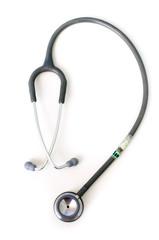 Gray stethoscope