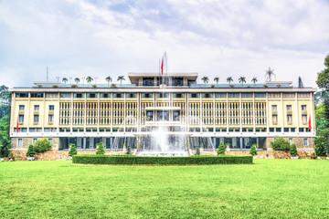 Independence Palace in Ho Chi Minh City, Vietnam.