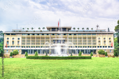 Independence Palace in Ho Chi Minh City, Vietnam. - 67029348