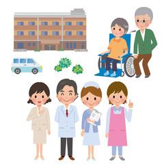 介護職員と施設と高齢者
