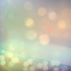 Lights, highlights, effect  blurred background. Vector
