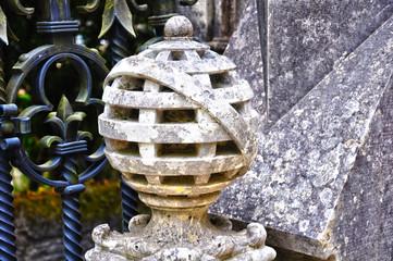 Portugal, Sintra, esfera armilar, Palacio de Regaleira