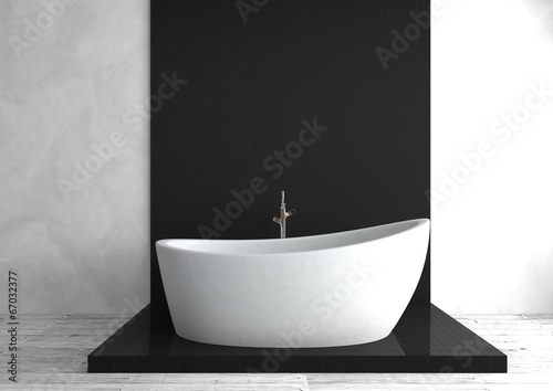 canvas print picture Badewanne
