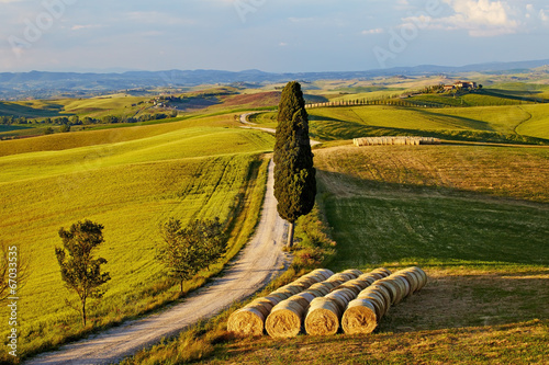 Beautiful Italy Tuscan landscape