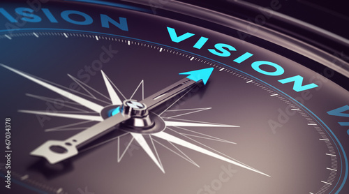 canvas print picture Business Vision