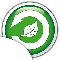 RECYCLE LEAF ICON