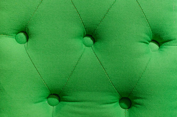 green upholstery leather pattern background