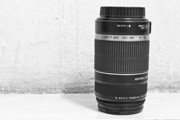 Lens, monochrome