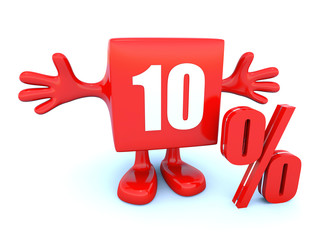 10 Percent off discount