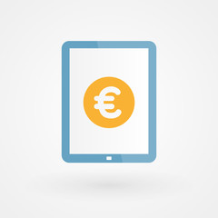 Tablet and Euro