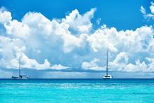 Piękna plaża na Seszele