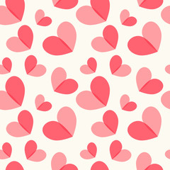 Heart seamless pattern 4