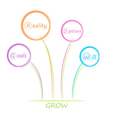 GROW diagram.
