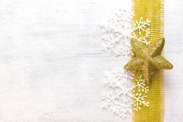 Goldstern Weihnachten