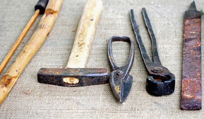 ancient tools and farrier tools obsolete