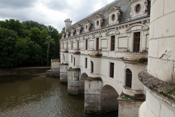 Castle of Chenonceau.